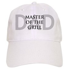 Dad Master of the Grill Baseball Cap