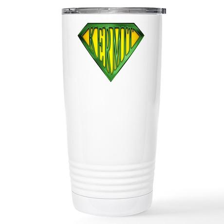 SuperKermit(Green) Stainless Steel Travel Mug
