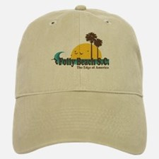 Folly Beach SC Baseball Baseball Cap