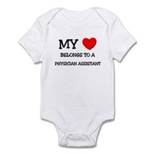 My Heart Belongs To A PHYSICIAN ASSISTANT Onesie