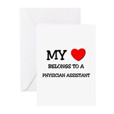 My Heart Belongs To A PHYSICIAN ASSISTANT Greeting