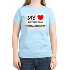 My Heart Belongs To A PHYSICAL THERAPIST T-Shirt