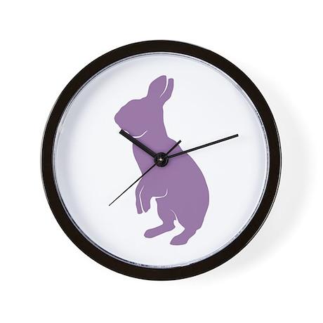Purple Mini Rex Wall Clock