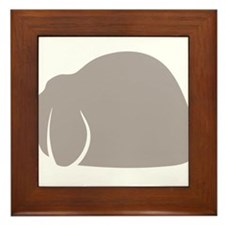 Mini Lop Framed Tile