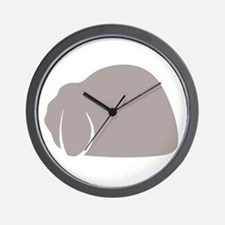 Mini Lop Wall Clock