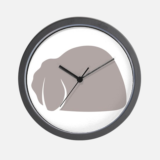 Mini Lop Wall Clock