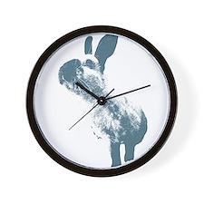 Blue HimmyHimmyHimmy Wall Clock