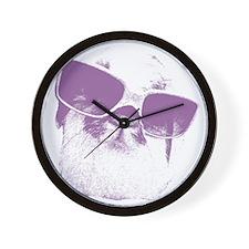 Diva Fuzzy Wall Clock