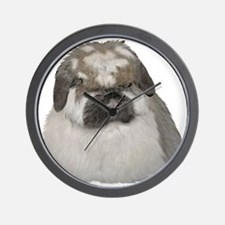 Broken Blue Tort Fuzzy Lop Wall Clock