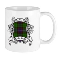 Mitchell Tartan Shield Coffee Mug