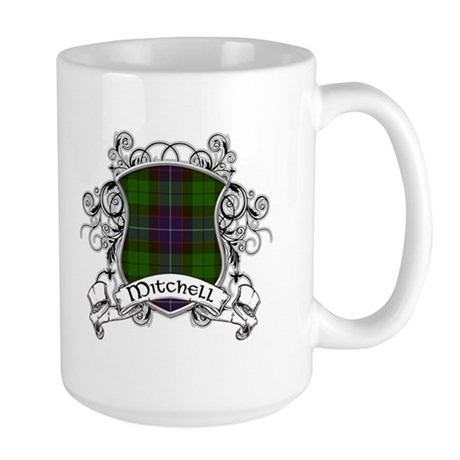 Mitchell Tartan Shield Large Mug