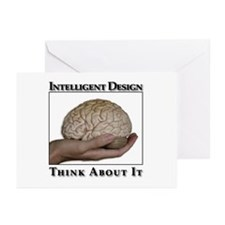 ID Brain Greeting Card (10 Pk)