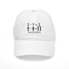 Simple Math Baseball Cap
