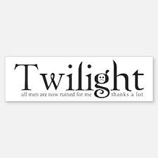 Thanks a lot, Twilight Bumper Bumper Bumper Sticker