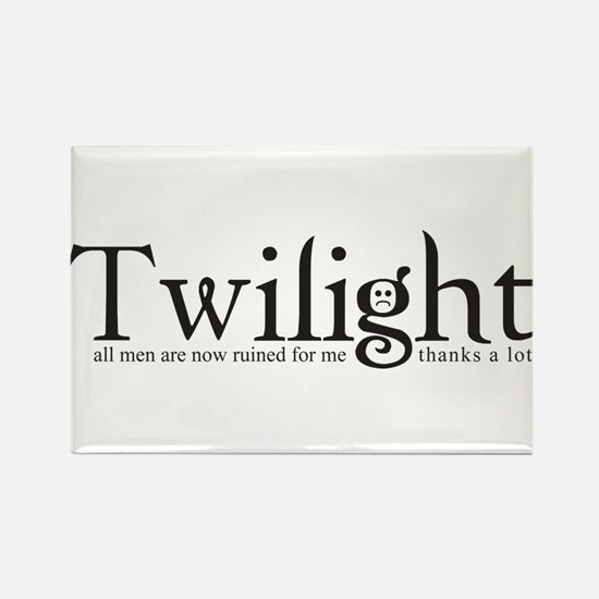 Thanks a lot, Twilight Rectangle Magnet
