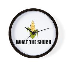SHUCK YOU Wall Clock