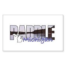 Paddle Michigan Decal