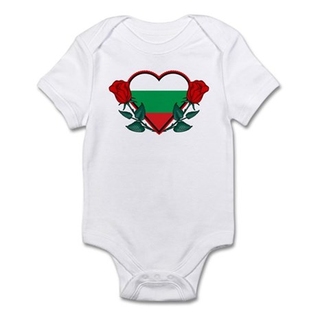Heart Bulgaria Infant Bodysuit