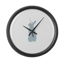 Blue Mini Rex Large Wall Clock