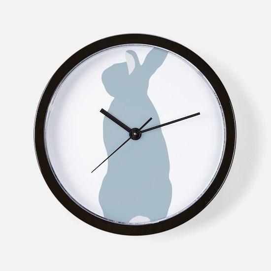 Blue Mini Rex Wall Clock
