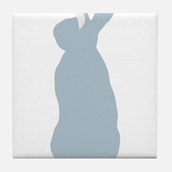 Blue Mini Rex Tile Coaster