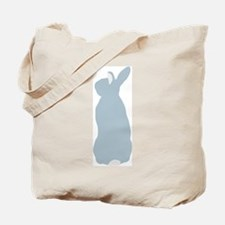Blue Mini Rex Tote Bag