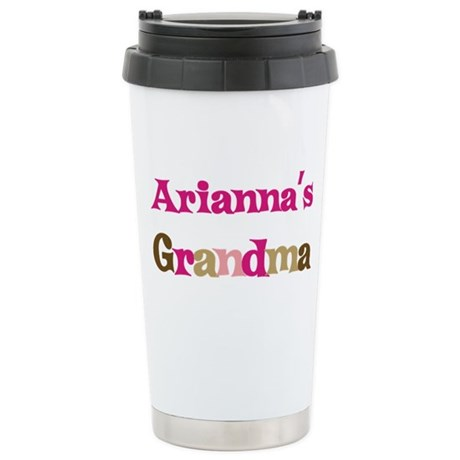 Arianna's Grandma Stainless Steel Travel Mug