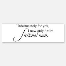 Fictional Men Bumper Bumper Bumper Sticker
