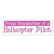 Grandmother of a Helicopter P Bumper Bumper Sticker