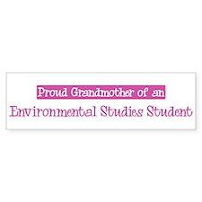 Grandmother of a Environmenta Bumper Bumper Sticker