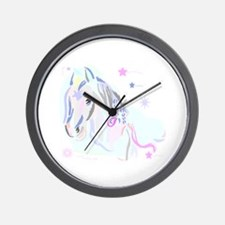 Colorful Horse2 Wall Clock