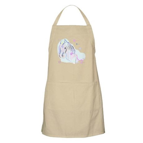 Colorful Horse2 BBQ Apron