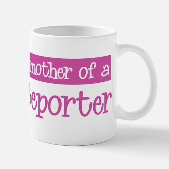 Grandmother of a Court Report Mug