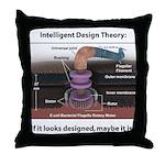 ID Rotary Motor Throw Pillow