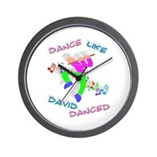 """3-D Dance Like David"" Wall Clock!"
