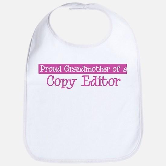 Grandmother of a Copy Editor Bib