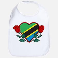 Heart Tanzania Bib