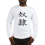 Slave - Kanji Symbol Long Sleeve T-Shirt