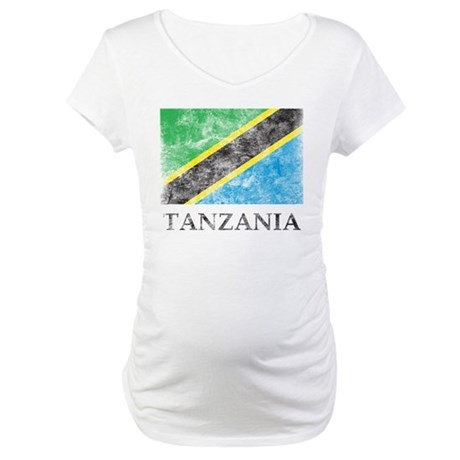 Vintage Tanzania Maternity T-Shirt