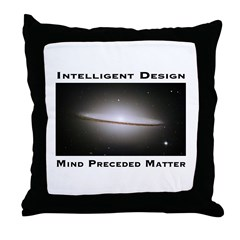 ID Matter Throw Pillow