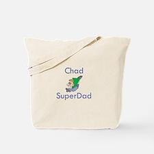 Chad- SuperDad Tote Bag