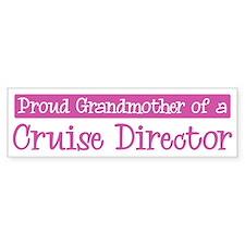 Grandmother of a Cruise Direc Bumper Bumper Sticker