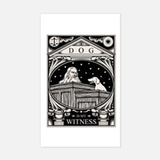 Dog Is My Witness Decal