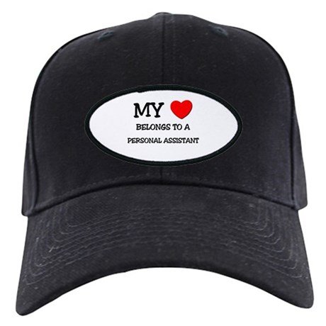My Heart Belongs To A PERSONAL ASSISTANT Black Cap