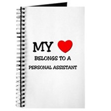 My Heart Belongs To A PERSONAL ASSISTANT Journal