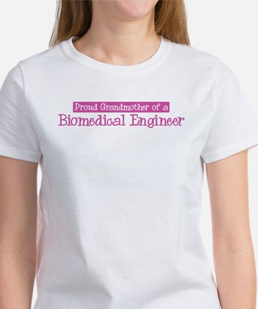 Grandmother of a Biomedical E Women's T-Shirt