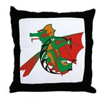 Dragon G Throw Pillow