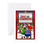 Carolers Greeting Cards (Pk of 20)