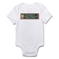 My Ferret is Smarter Than You Infant Bodysuit