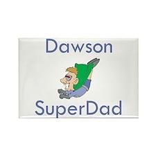 Dawson- SuperDad Rectangle Magnet